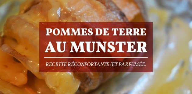 Pommes de terre au munster — Recette réconfortante (et parfumée)