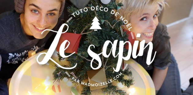 Tuto DIY en vidéo — La décoration du sapin de Noël