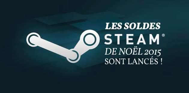Les soldes Steam de Noël 2015 sont lancés !