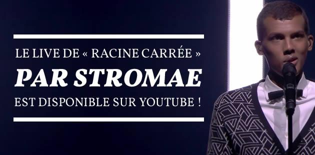 Le live de « Racine Carrée » par Stromae est disponible sur YouTube !
