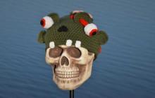 Le bonnet crocheté en forme de zombie — Idée cadeau pourrie