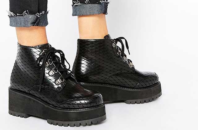 Sélection de chaussures à plateforme pour l'hiver 2015