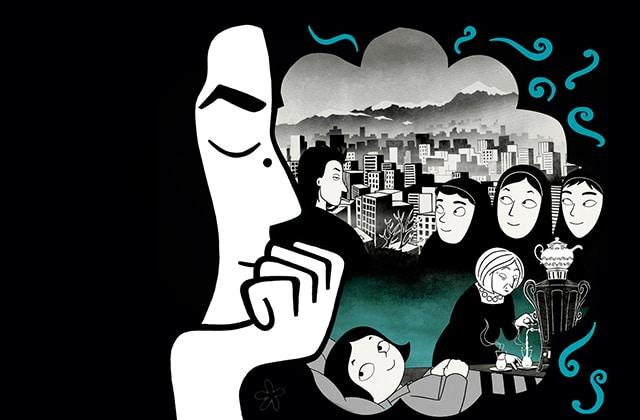 CinémadZ Paris — «Persepolis» le 5 janvier à 20h