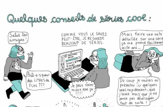 Mirion Malle nous présente en BD ses séries préférées