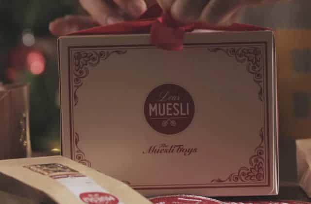 Dear Muesli, la marque de müesli maison qui met de l'esprit de Noël dans ton petit-déjeuner