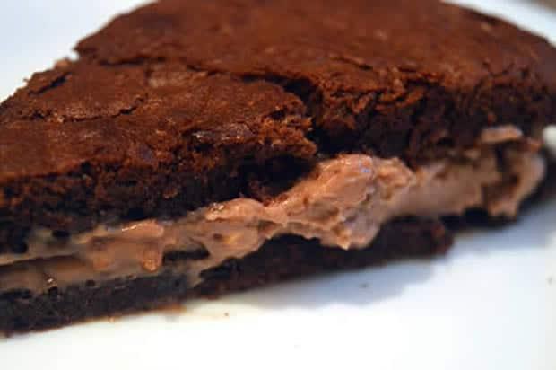 gâteau chocolat pralin crémeux