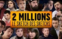 Golden Moustache sort «Le Sketch des Sketchs», pour fêter ses 2 millions d'abonnés