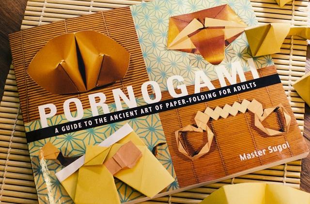 Le livre pour apprendre à faire des origami porno — Idée cadeau cool