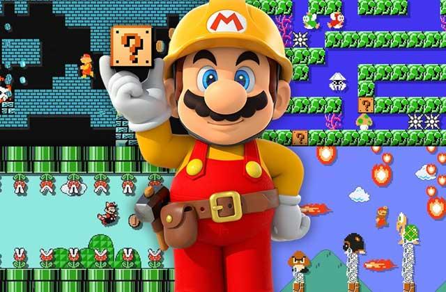 Nintendo lance son réseau social dédié à Super Mario Maker