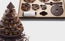 Le sapin de Noël en chocolat… et en kit — idée cadeau cool