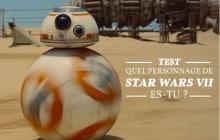 Quel personnage de Star Wars: le Réveil de la Force es-tu ?