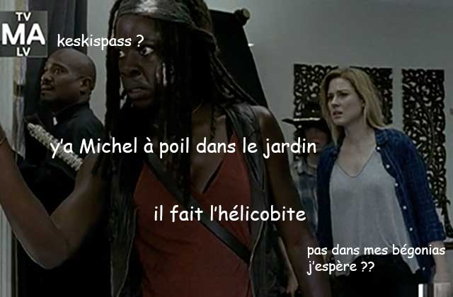 The Walking Dead S06E08 — Le récap (rigolo)