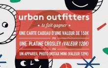 Urban Outfitters te fait gagner 3 super cadeaux pour les fêtes !