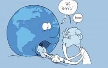 Zep fait la visite médicale de la Terre pour la COP21