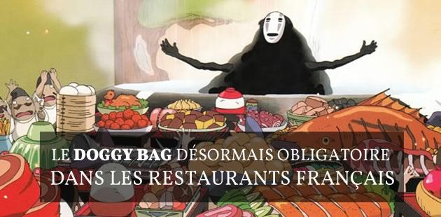 Le doggy bag désormais obligatoire dans les restaurants français