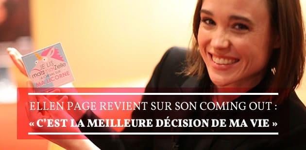 Ellen Page nous parle de «Free Love» et de son coming out, «la meilleure décision de sa vie»