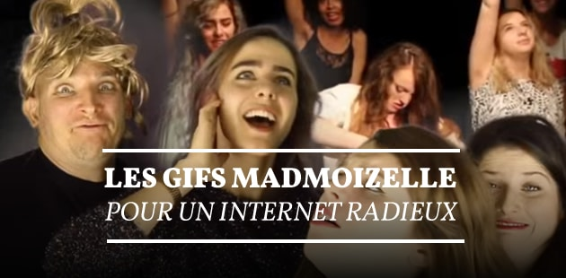 Les gifs madmoiZelle, pour un Internet radieux
