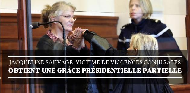 Jacqueline Sauvage, victime de violences conjugales, obtient une grâce présidentielle partielle