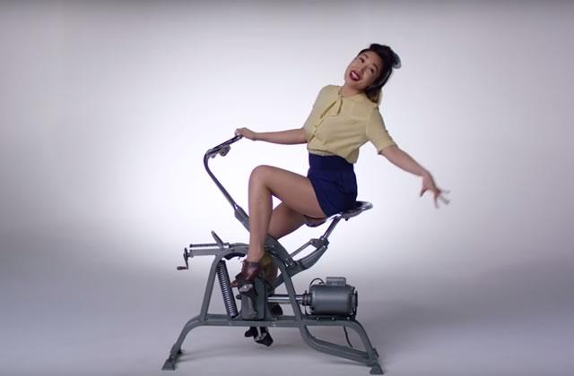 Un siècle de fitness résumé dans une chouette vidéo