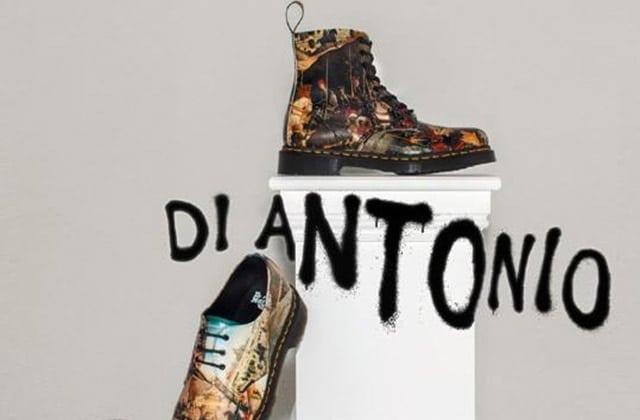 Dr. Martens sort une collection inspirée des tableaux de Di Antonio