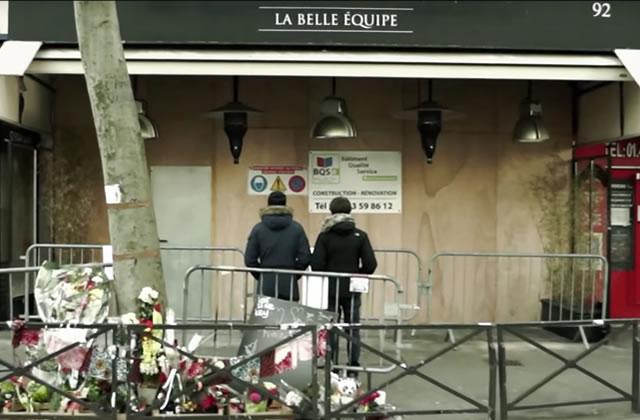 Krimsa chante «La Belle Équipe», à la mémoire des victimes des attentats du 13 novembre 2015
