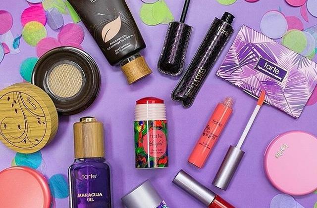 La marque de maquillage Tarte livre désormais en France !
