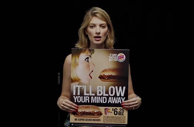 Les publicités sexistes dénoncées par plusieurs femmes en vidéo