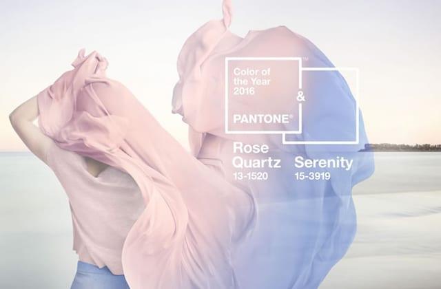 Comment porter Rose Quartz, la couleur de l'année 2016 ?
