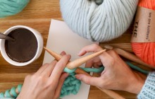 Viens tricoter avec nous pour le premier Atelier madZ!