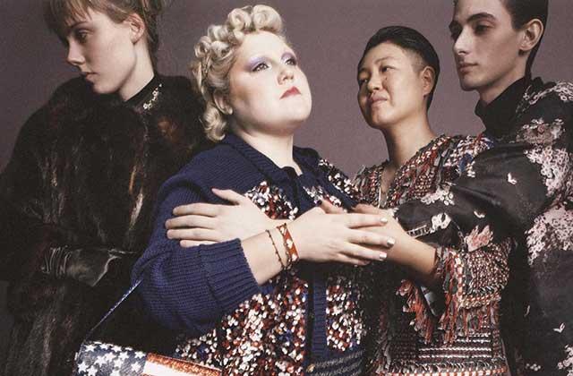 Beth Ditto, Christina Ricci et Bette Midler rejoignent les égéries Marc Jacobs du printemps 2016
