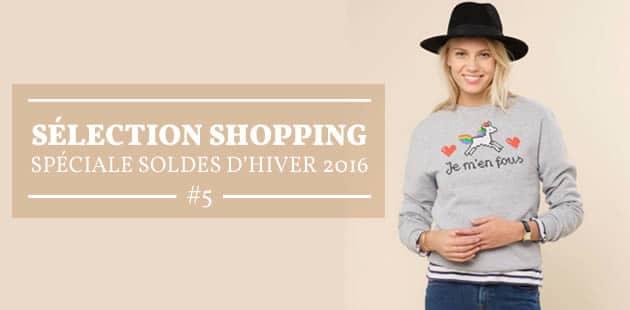 Sélection shopping spéciale soldes d'hiver 2016 #5