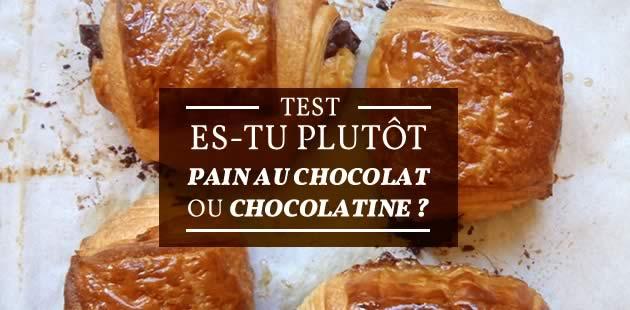 Es-tu plutôt pain au chocolat ou chocolatine ?