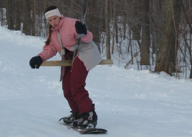 clemence-snowboard-concentration-tirefesse