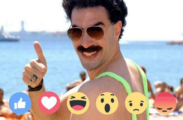 Facebook sort ses alternatives au «J'aime»… et ce n'est pas innocent