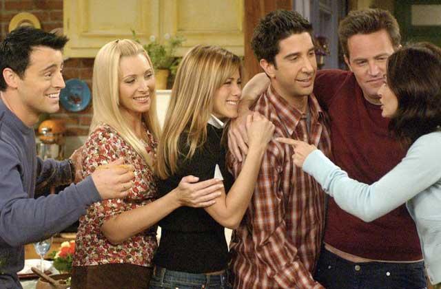 La réunion «Friends» (mais sans Chandler), l'instant nostalgie de ce début d'année