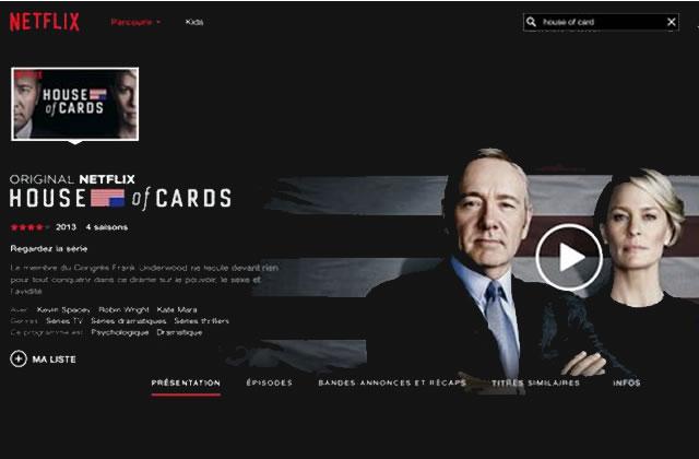 «House of Cards» saison 4 est sur Netflix!
