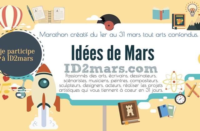L'ID2Mars, un mois pour mettre au monde ton projet artistique