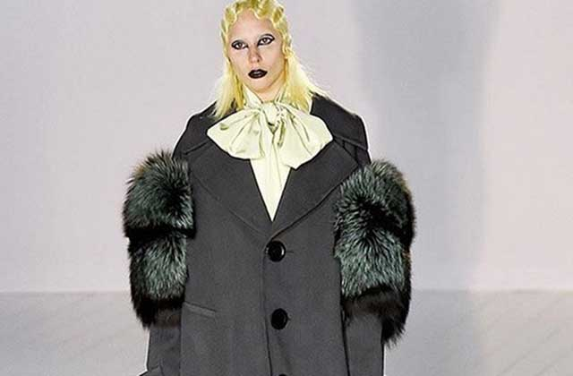 Lady Gaga a défilé pour Marc Jacobs à la Fashion Week de New York