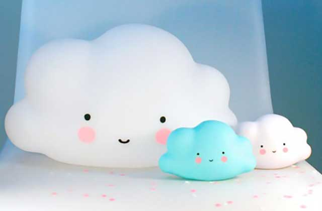 L'adorable lampe-nuage de Bird on the Wire