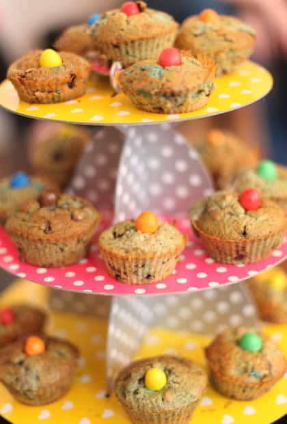 muffins poire