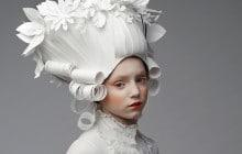 Des perruques en papier de toute beauté qui font rêver