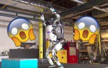 Une vidéo montre un fascinant robot humanoïde faire un salto arrière (et se ramasser)