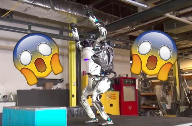 Boston Dynamics présente son nouveau chien-robot