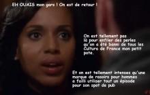 «Scandal» S05E10 —Le récap rigolo (enfin de retour)!