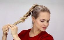 Sélections de tutos coiffure pour pimper une queue de cheval un peu sage