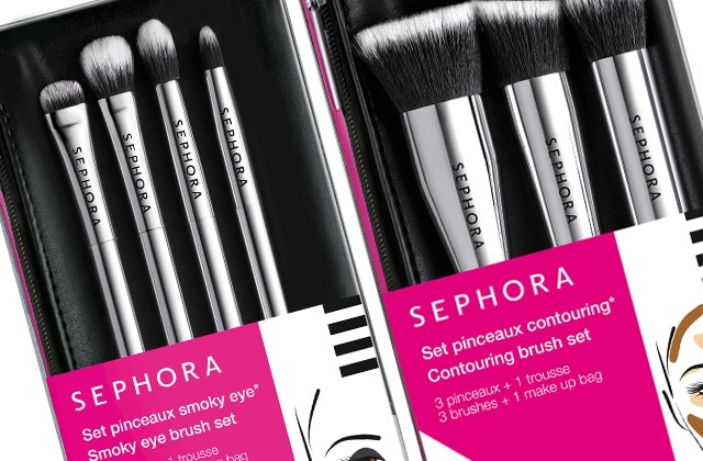 Sephora sort une nouvelle gamme de pinceaux professionnels