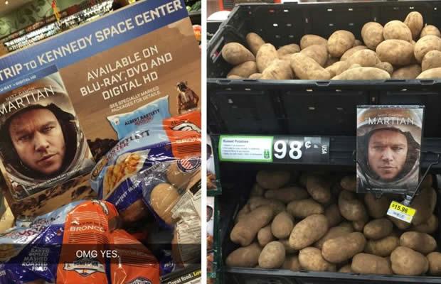 seul sur mars patates