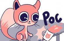 «Et si j'étais… un chat ?» imagine Mlle Karensac en dessins