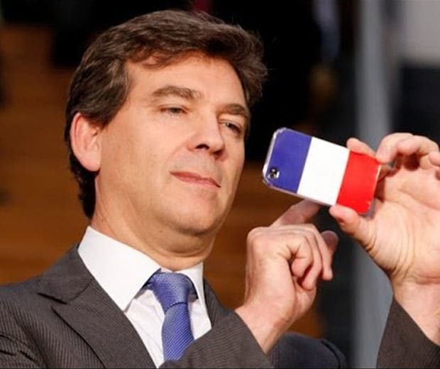 Arnaud montebourg made in france iphone