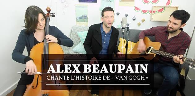 Alex Beaupain chante l'histoire de «Van Gogh»